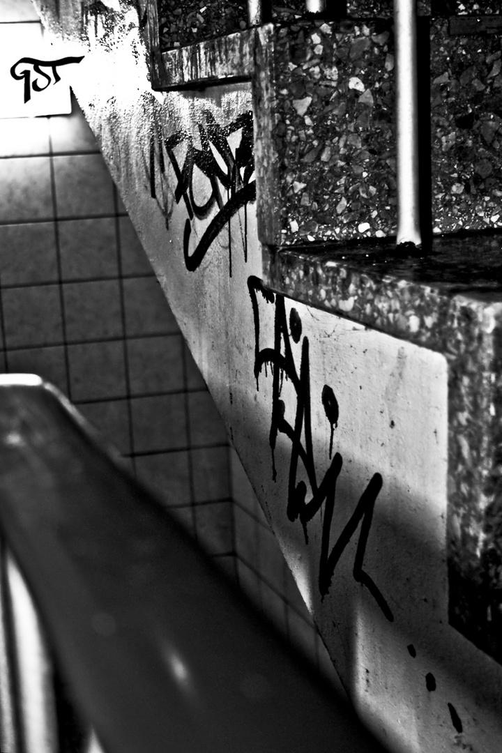 graffiti in der city