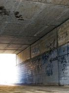 Graffiti in der Unterführung
