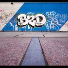 graffiti in the depth