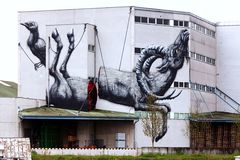 Graffiti - Kunst in Linz