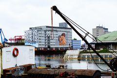 Graffiti - Kunst in Linz / Hafen
