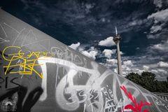 Graffiti - Medienhafen Düsseldorf