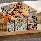Graffiti sul muro