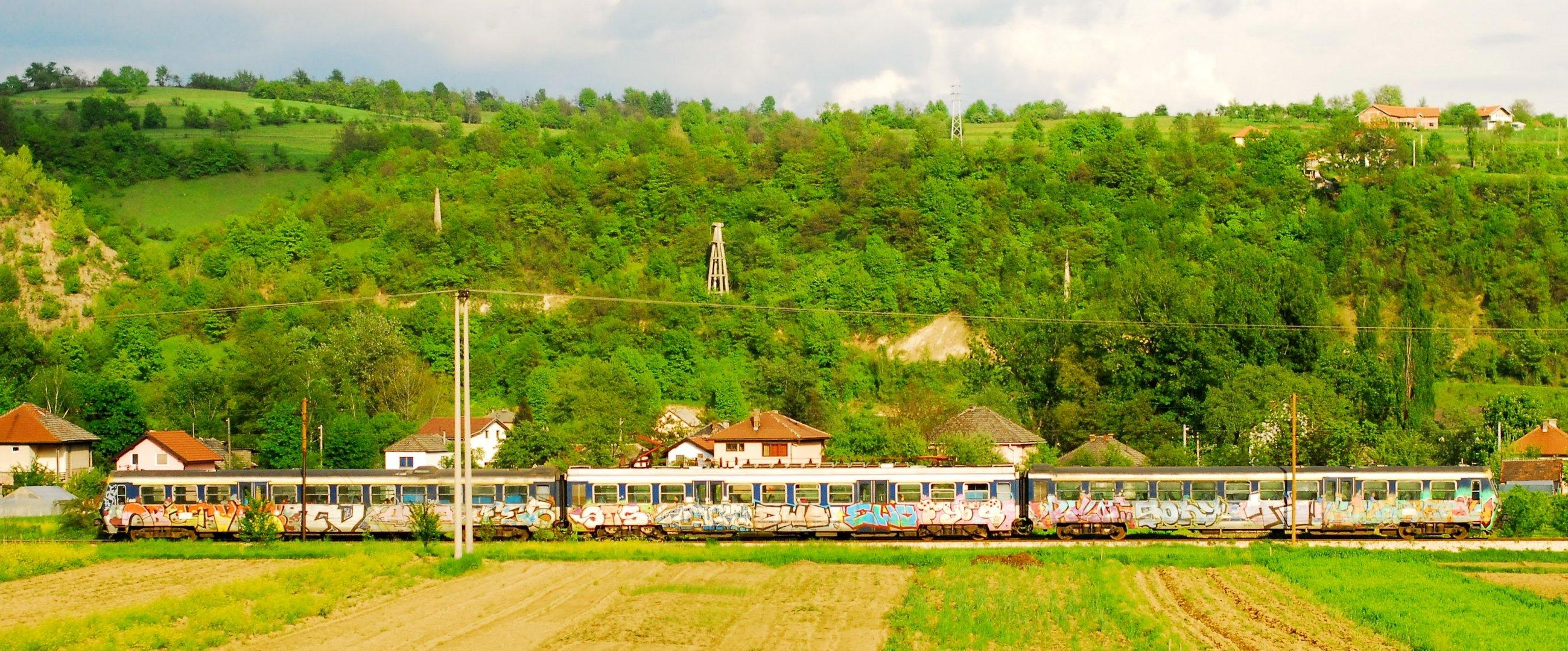 Graffiti-Train
