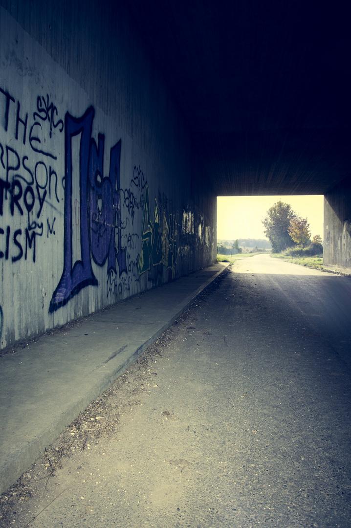 #Graffiti #Tunnel