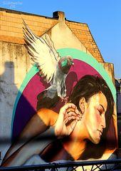 Graffiti Waldhausener Straße