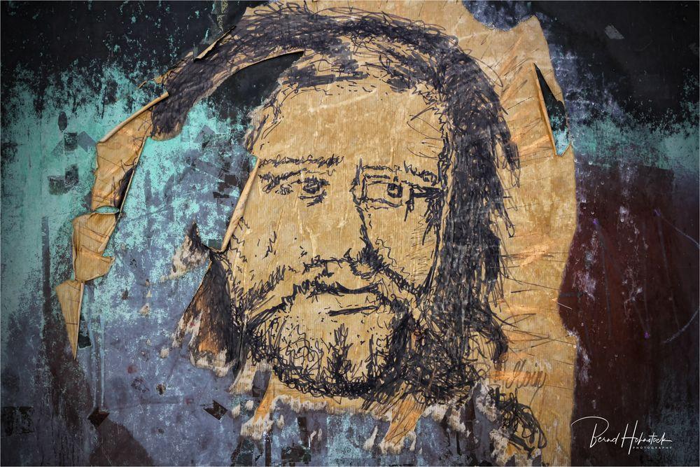 Graffito der Freiheit ....