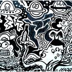 Graffito in Mannheim