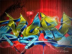 Graffito mit Heimatgefühlen   ....