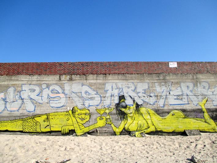 Graffity in Prora