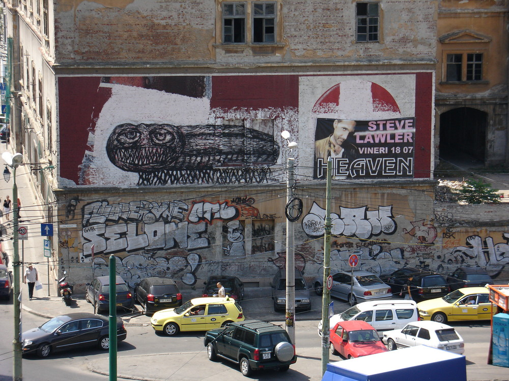 Graffity Temeschwa Rumänien - Tausendfüssler