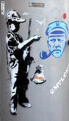 Graffy-Junge plus Seebär