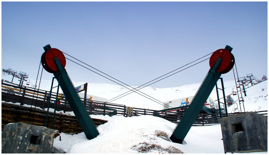 Grafik des Skilaufs