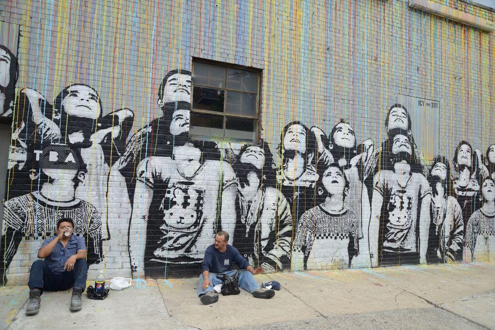 grafiti  new york