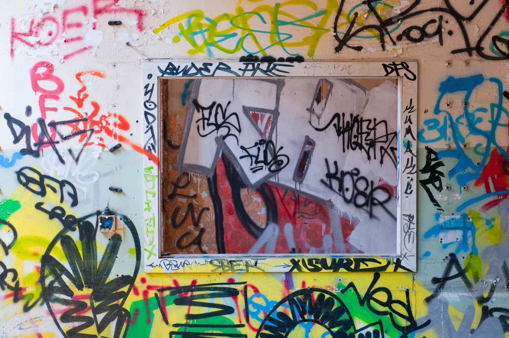 Grafitti-Bilderrahmen...