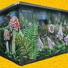 Grafitti-Kunst am Trafohäuschen