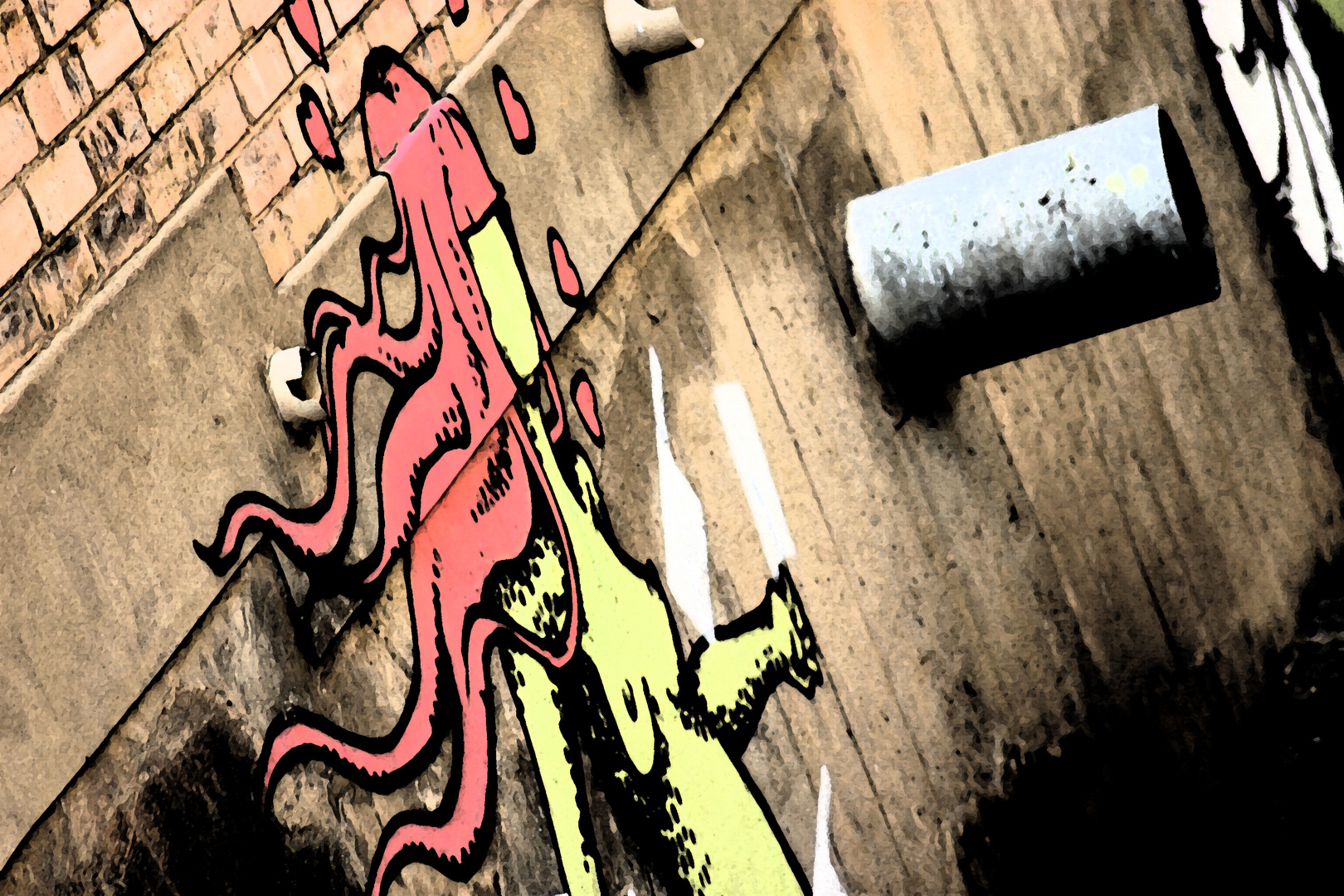 Grafitti Medusa Of Love
