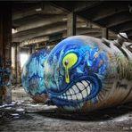Grafitti vom Feinsten ....