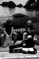 Grafton street musicians