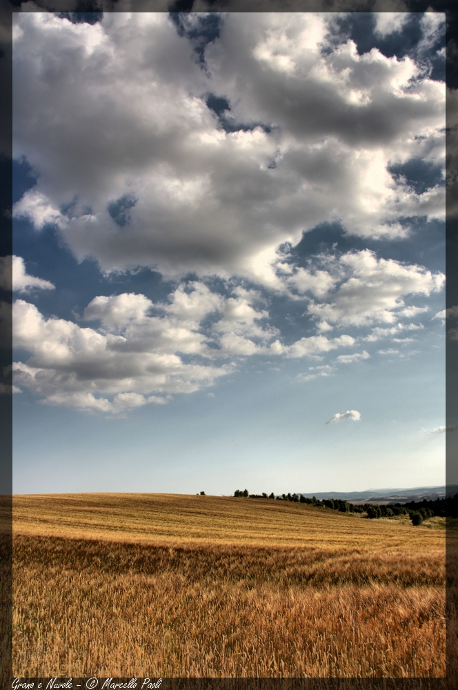 Grain and Clouds # 2
