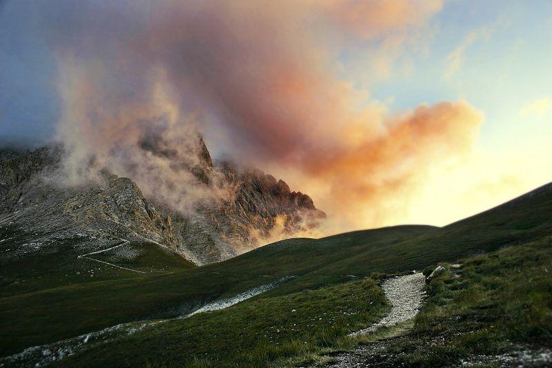 Gran Sasso d'Italia ... Monte Corvo
