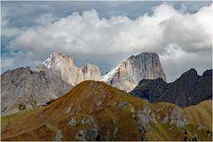 Gran Vernel und die SW-Seite der Marmolata