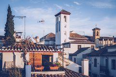 Granada - Albaicín (Andalusien, Spanien)
