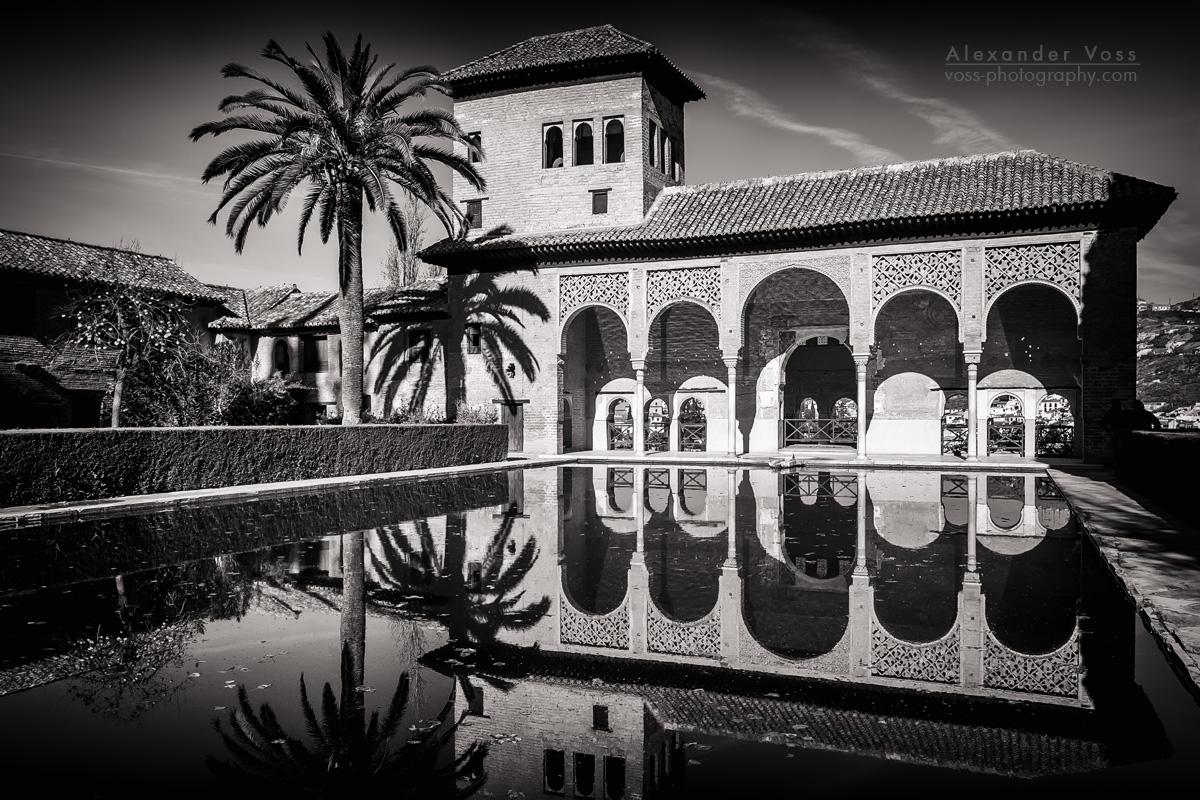 Granada - Alhambra / Torre de las Damas