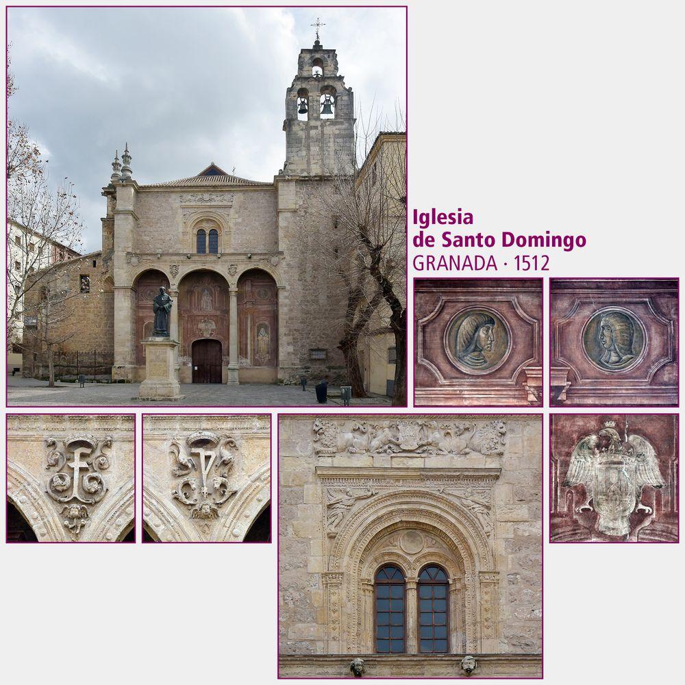 Granada · Iglesia de Santo Domingo