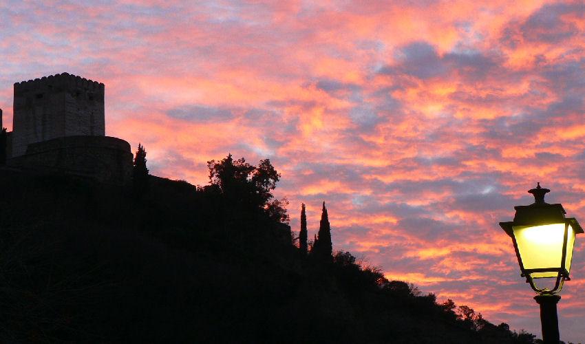 Granada, tramonto