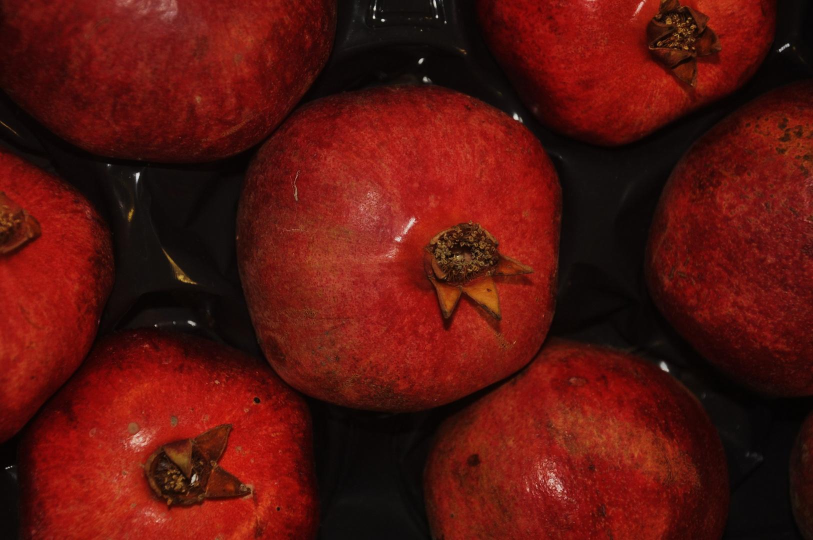 Granatäpfel für die gemütlichen Stunden zu Hause