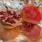 Granatapfel - Spiegelung