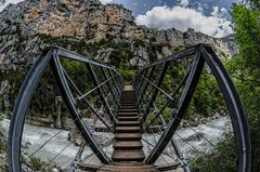 Grand Canyon du Verdon - die Brücke