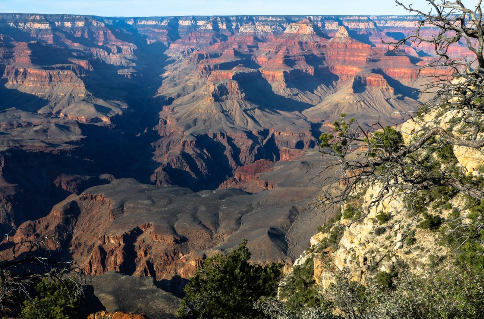 Grand Canyon im Abendlicht
