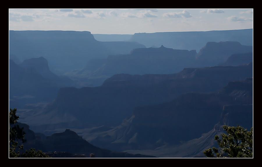 Grand Canyon in den Abendstunden.....