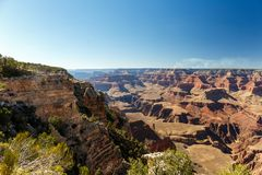 Grand Canyon in der Nachmittagssonne