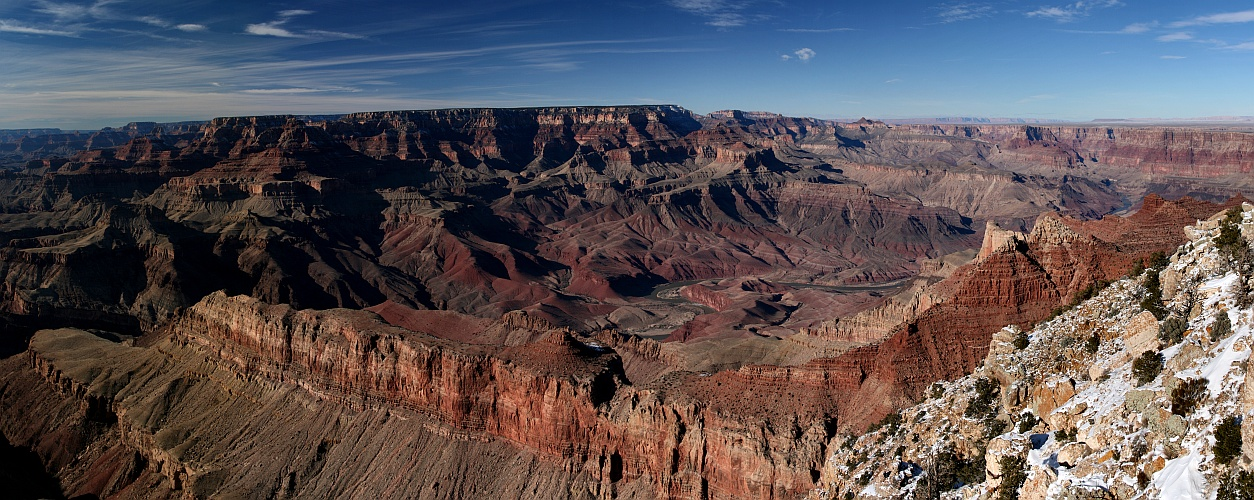 Grand Canyon - Lipan Point Panorama
