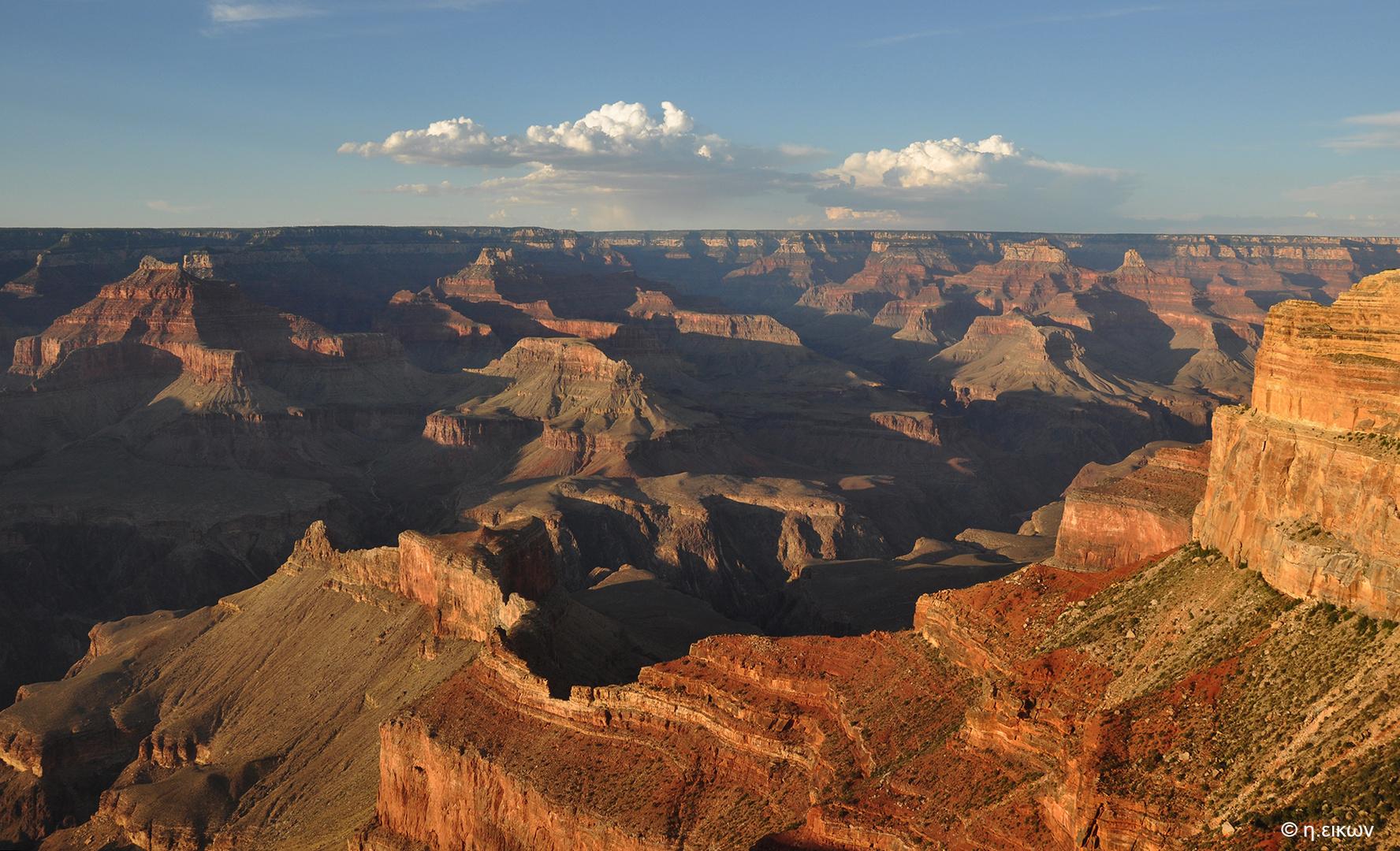 Grand Canyon magic hour