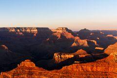 Grand Canyon Sonnenuntergang