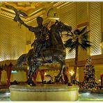 Grand Hyatt Lobby, Arabischer Reiter