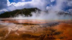 Grand Prismatic Spring 2, Yellowstone NP, Wyoming, USA