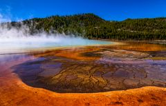 Grand Prismatic Spring 4, Yellowstone NP, Wyoming, USA
