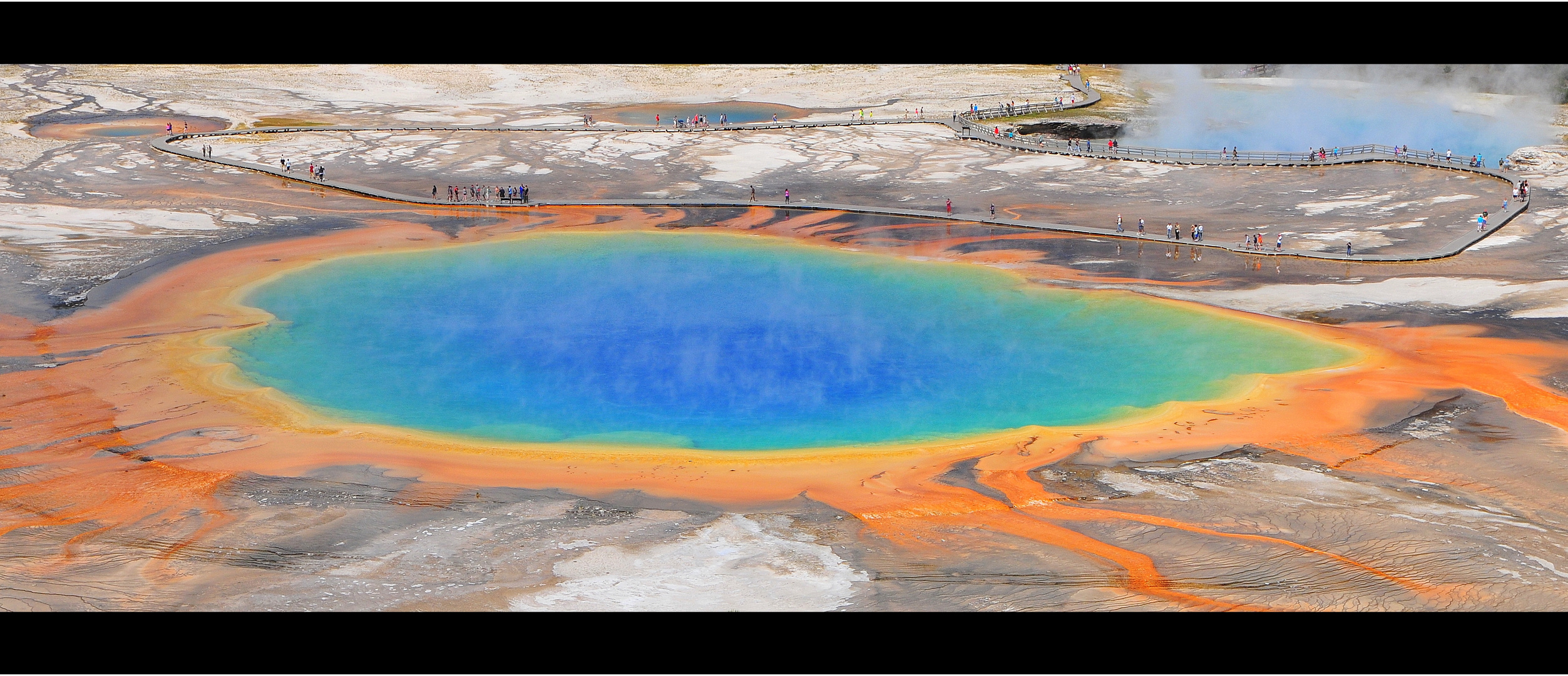 Grand Prismatic Spring - Panoramaversion