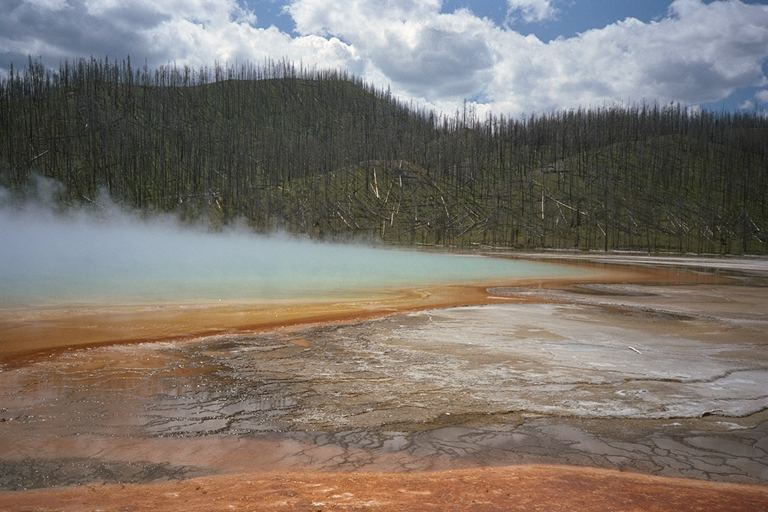 Grand Prismatic Spring - Yellowstone NP - Wyoming