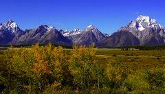 Grand Teton im Herbst