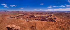 Grand View Point, Canyonlands , Utah, USA
