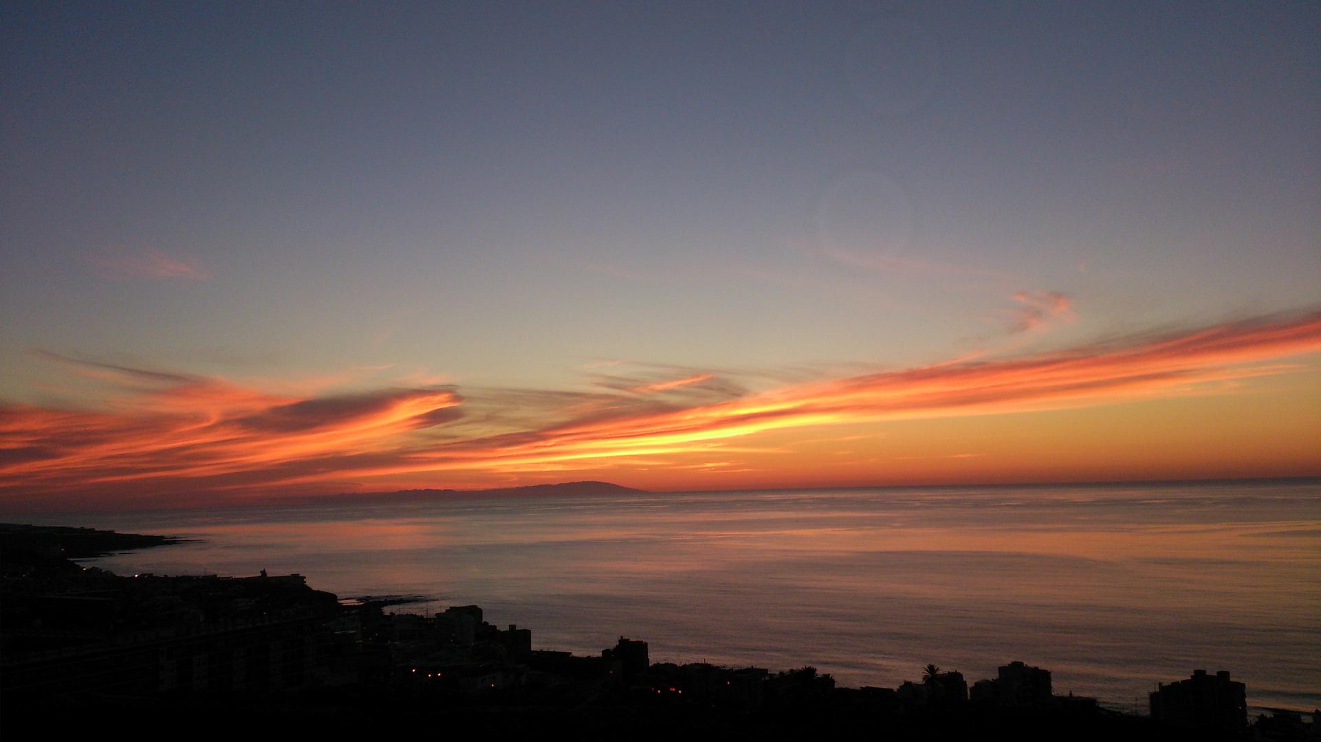 Grandioser Sonnenuntergang - La Palma