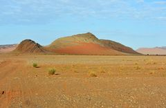 Grandioses Wüstenplateau bei Tafraout Hassi Fougani