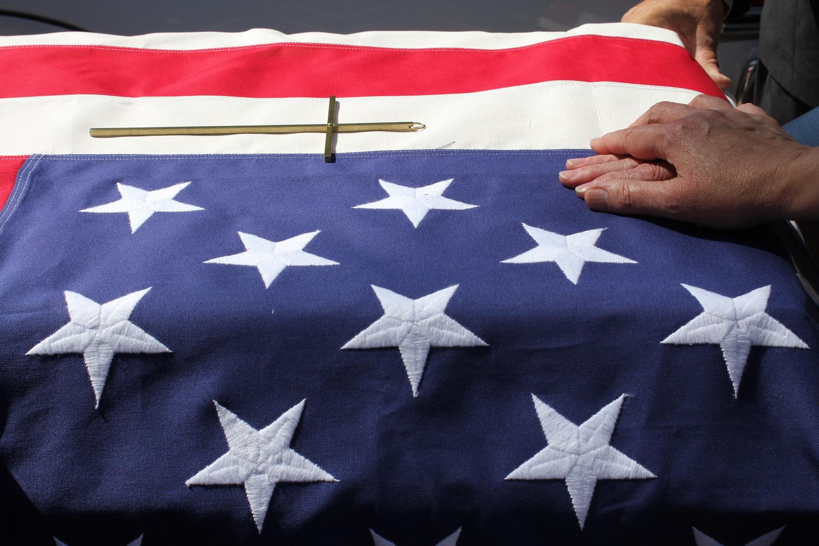 Grandpa's funeral