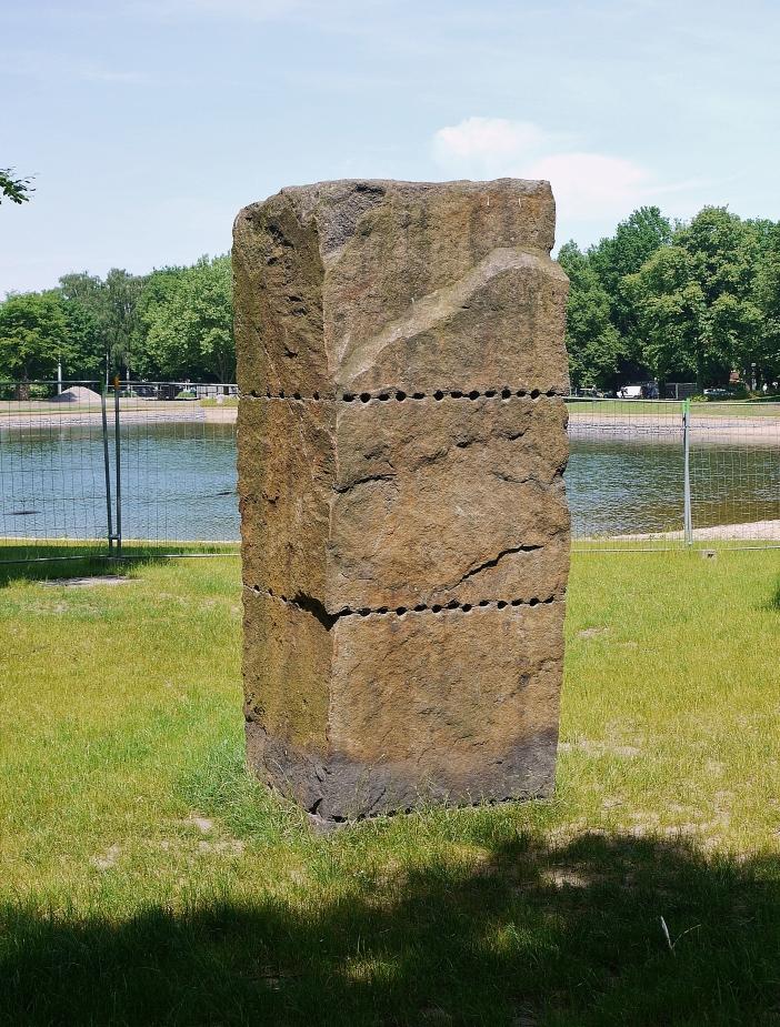 Granit gespalten